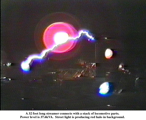 Greg Leyh S Tesla Coil Images Click On An Image To See A